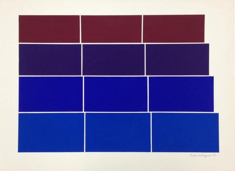 Graded steps [blue/mauve]