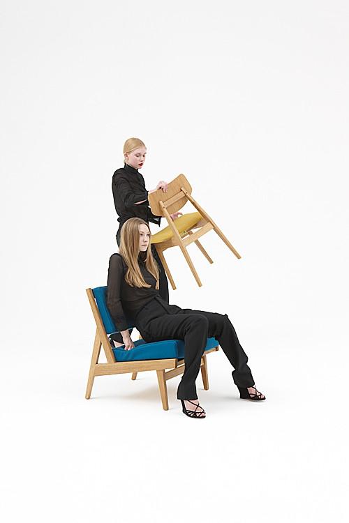 U 431 armless chair | C 275 side chair