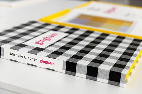Michelle Grabner, Gingham, The Rocket Press