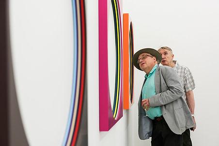 Lars Wolter sculpture, paintng, art, Rocket Gallery