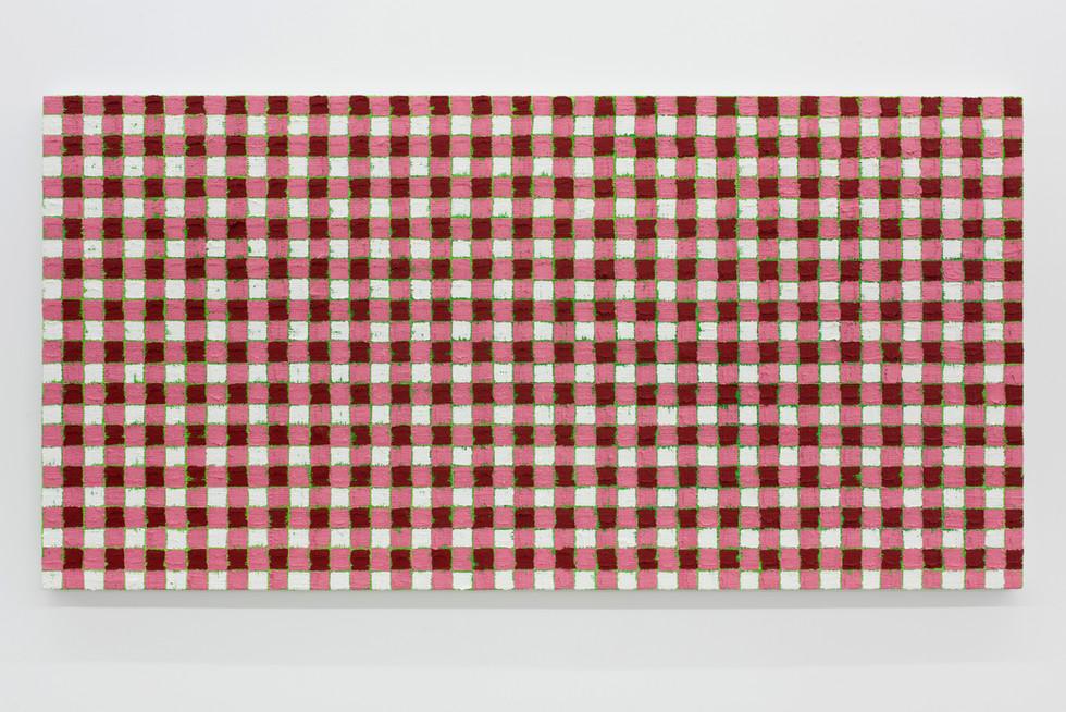 Michelle Grabner | Cadmium red deep | green