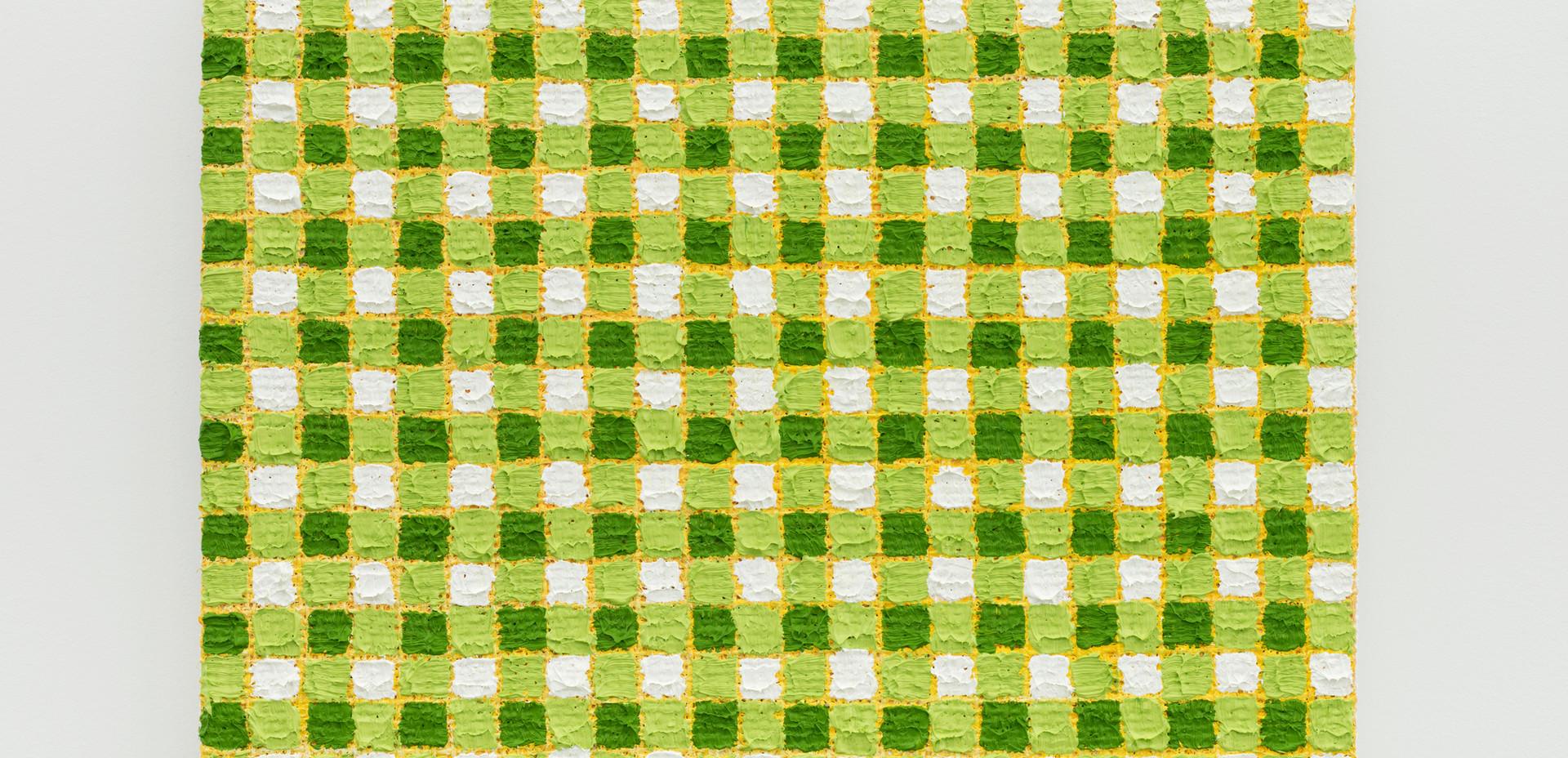 Michelle Grabner   Sap green   yellow