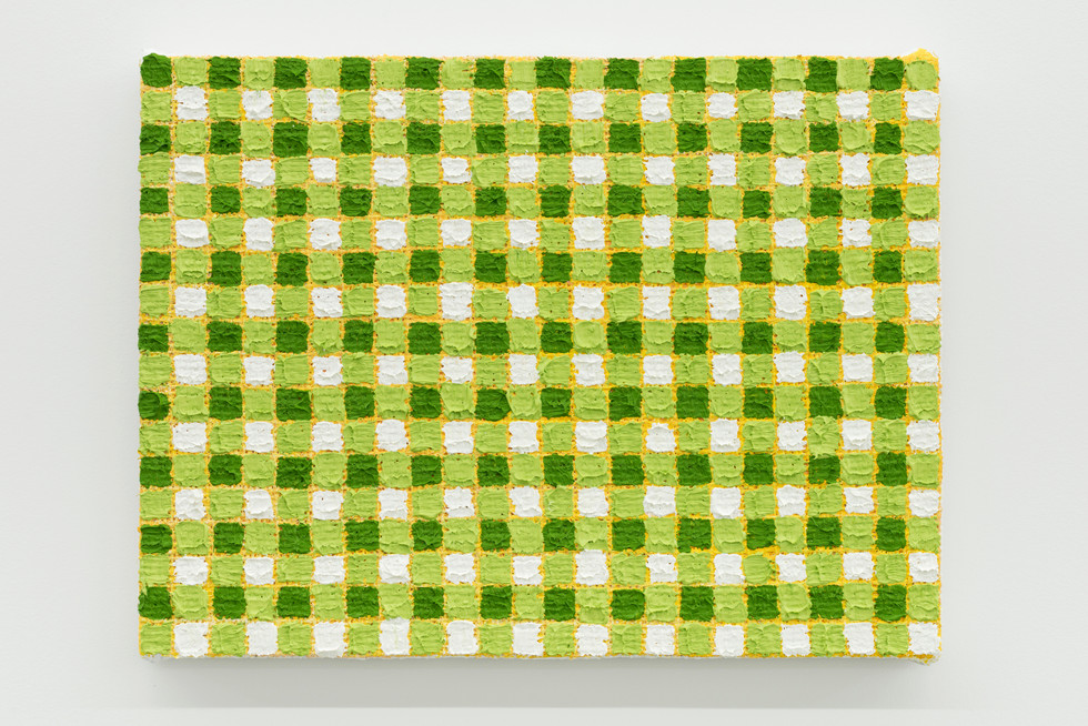 Michelle Grabner | Sap green | yellow