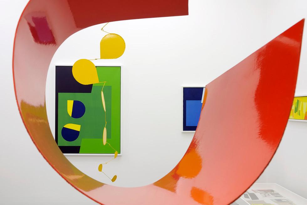 Mobiles, paintings & screenprints