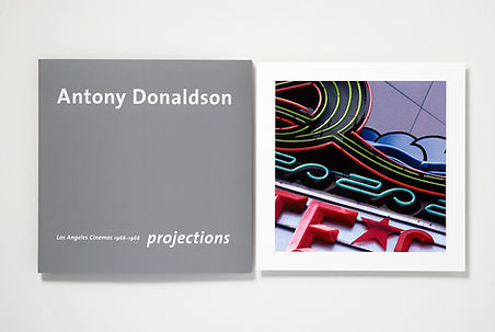 Antony Donaldson pop art cinema photograph Rocket Gallery