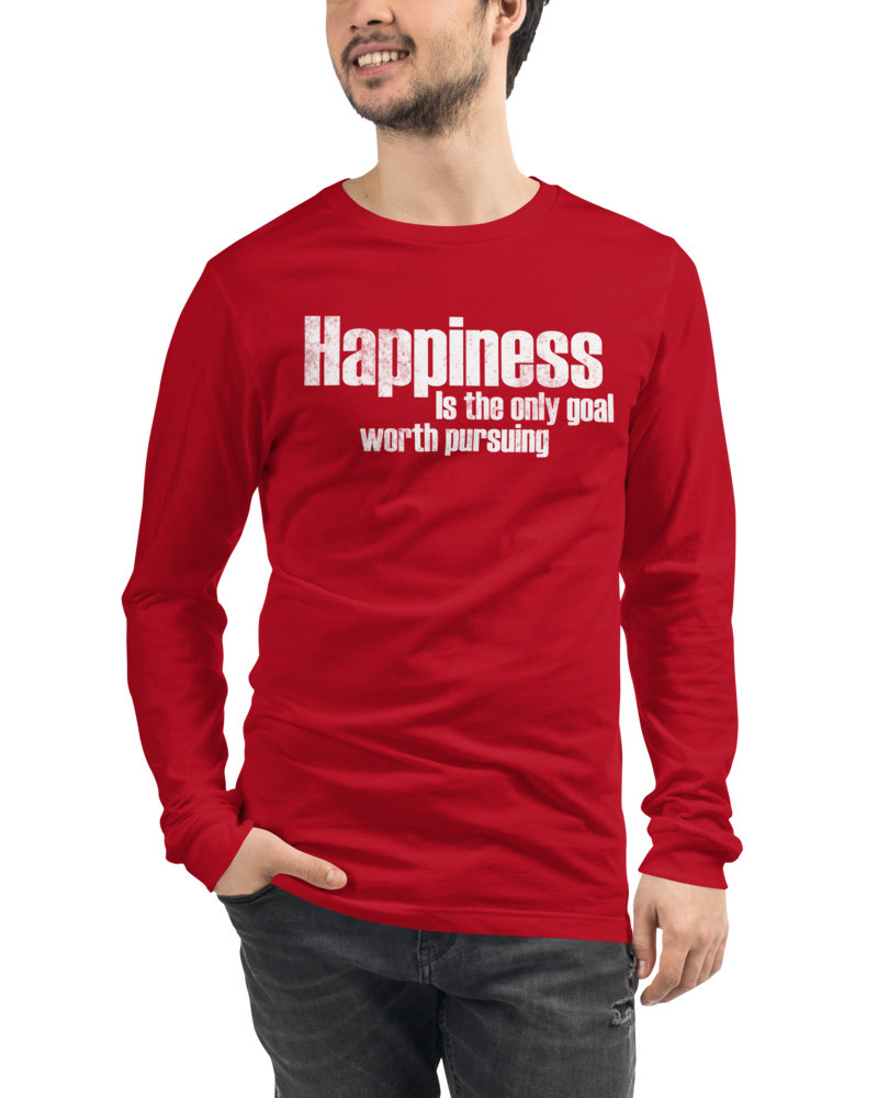 Happiness_Vintage_mockup_Front_Mens_Red.