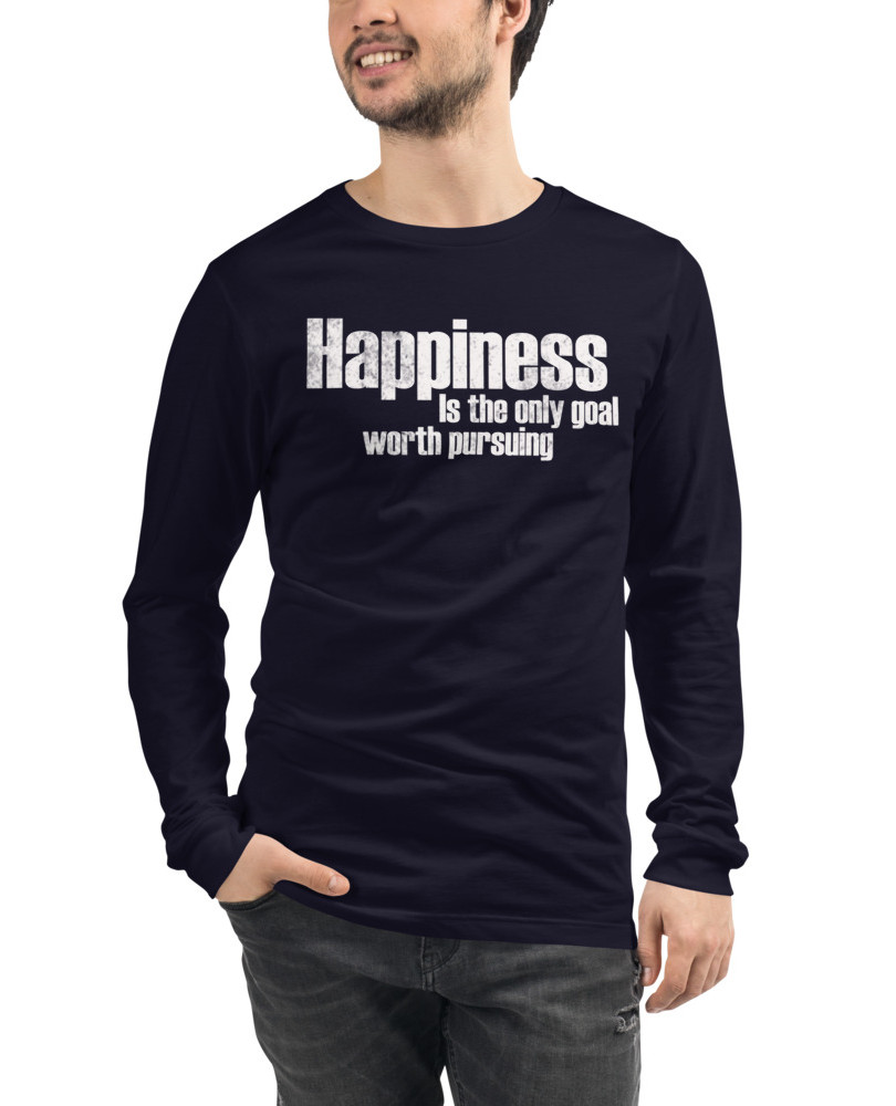 Happiness_Vintage_mockup_Front_Mens_Navy