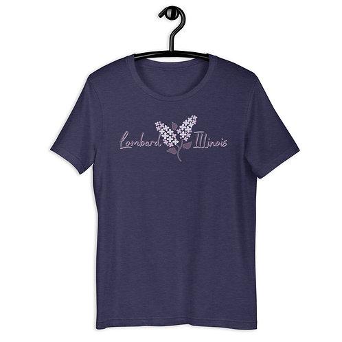 Lombard Lilac Short-Sleeve Unisex T-Shirt