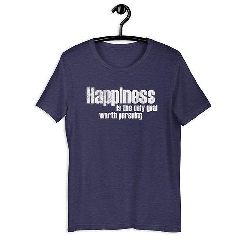Happiness Short-Sleeve Unisex T-Shirt