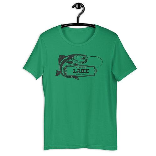 Atwood Lake Fishing Unisex T-Shirt