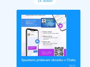 ABSOLVENTI.cz představují posílání fotek v Chatu
