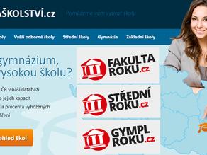 Ekosystém: integrovali jsme portály MapaŠkolství.cz, FakultaRoku.cz a další s aplikací ABSOLVENTI.cz