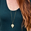Thumbnail: The Eclipse Necklace~ Long Crushed Gemstone Necklace