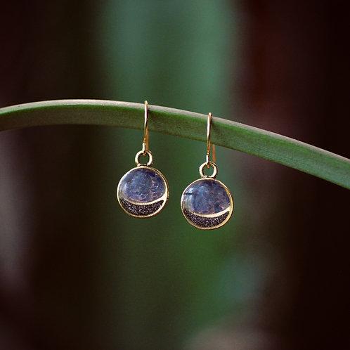 The Mini Full Moon Earrings