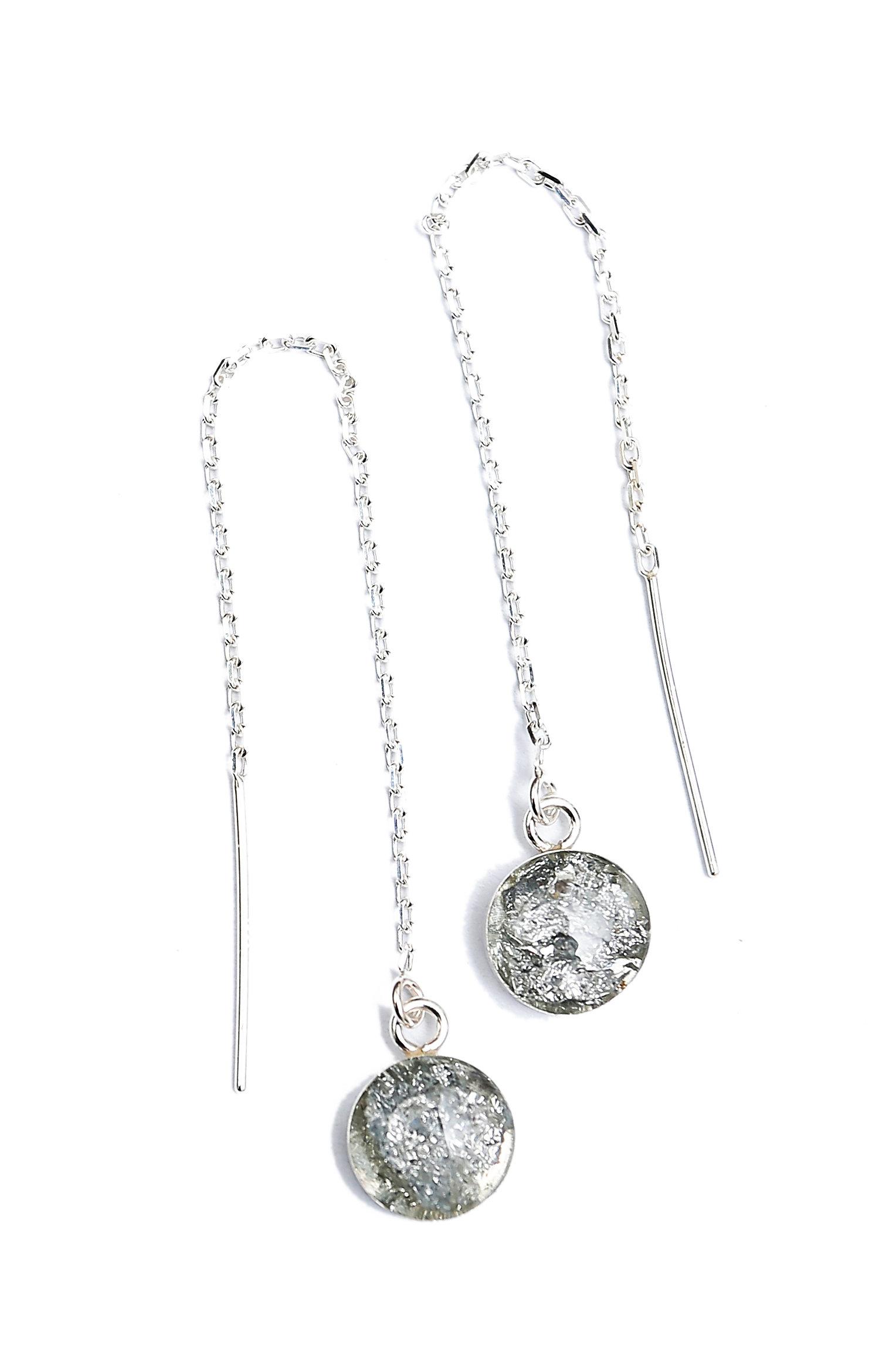 The Nikki Earrings ~ Sterling Silver Threader Earrings