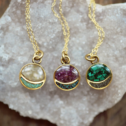 The Mini Full Moon Necklace