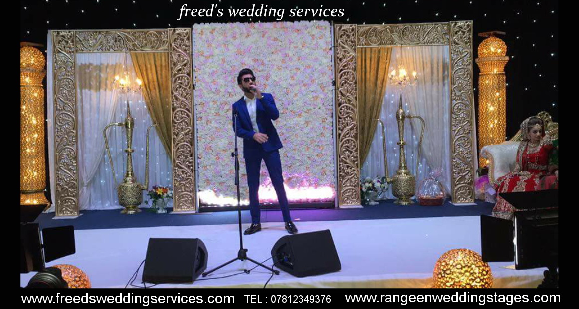 Freeds Wedding Services Nottingham Asian Wedding Stages Mehndi Stage