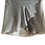 Ballet Wrap Skirt. Silver Grey Chiffon with contrasting hem and waistband. Front View