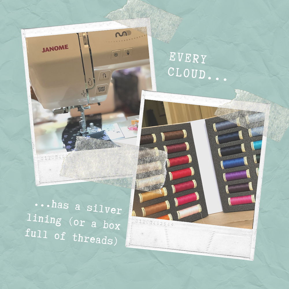 Dance Stitchery's new equipment and fancy thread collection