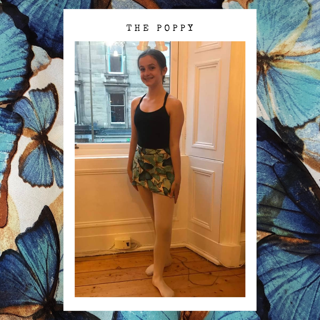 Ballet Wrap Skirt - The Poppy