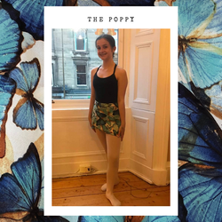 Ballet Wrap Skirt - The Poppy