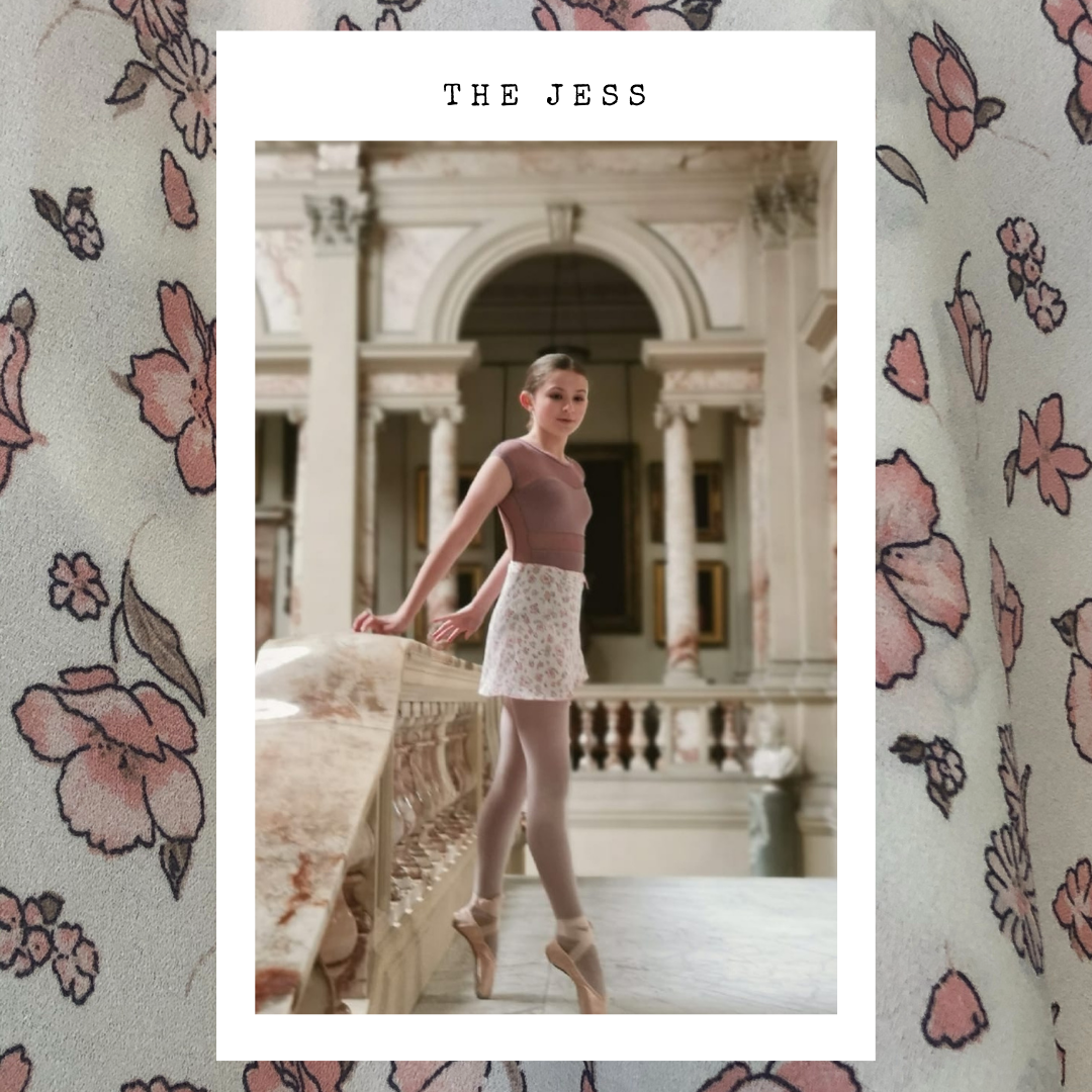 Ballet wrap skirt - The Jess, modelled by Jess in Gosford House