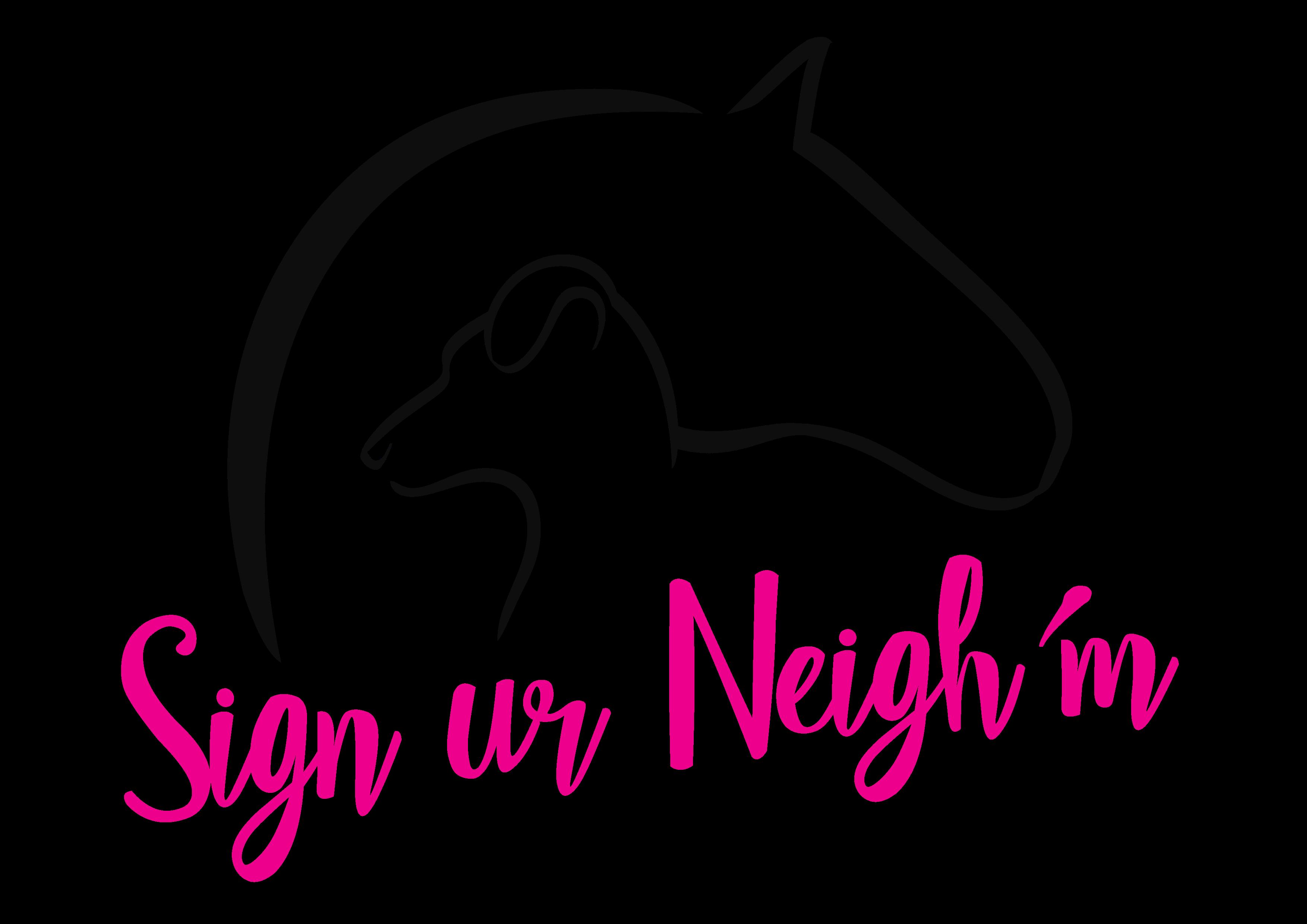 Sign ur Neighm
