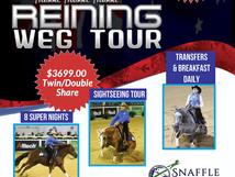 Reining WEG 2018 TOUR - Snaffle Travel