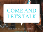 2019 NRHA Rule Change Proposals
