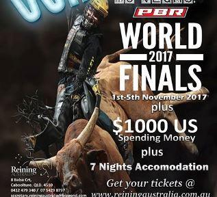 PBR World Finals Raffle - WINNER