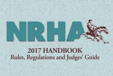 2017 NRHA Handbook Now Available
