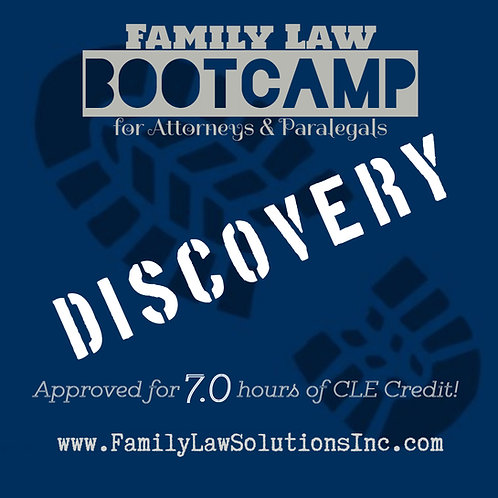 Discounted Admission:  Discovery Bootcamp