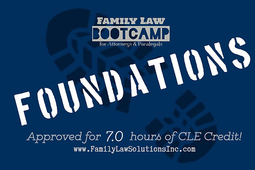 Foundations Bootcamp Online