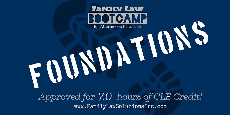 Foundations Bootcamp