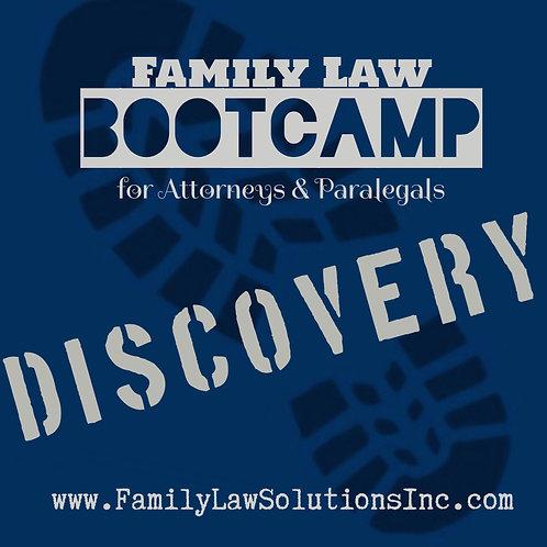 Intern Training:  Discovery Bootcamp