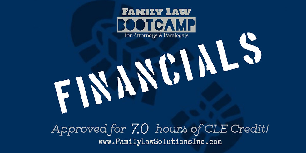 Financials Bootcamp