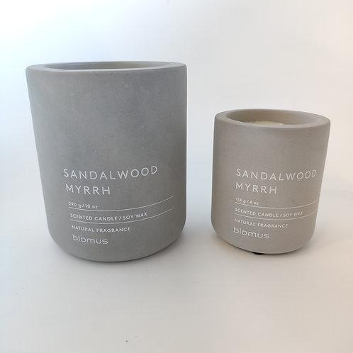 CANDELA Blomus Sandalwood Myrrh