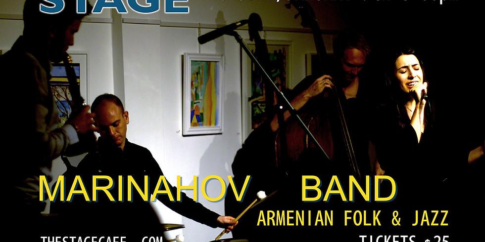 Marinahov Band Plays Armenian Folk & Jazz