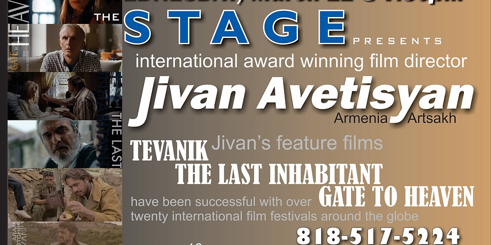 Award winning Film Director Jivan Avetisyan