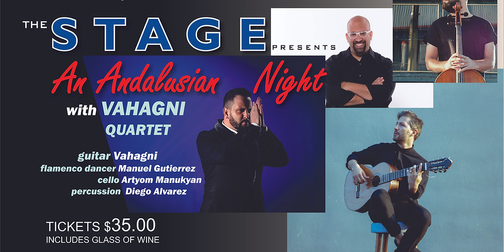 An Andalusian Night with Vahagni Quartet