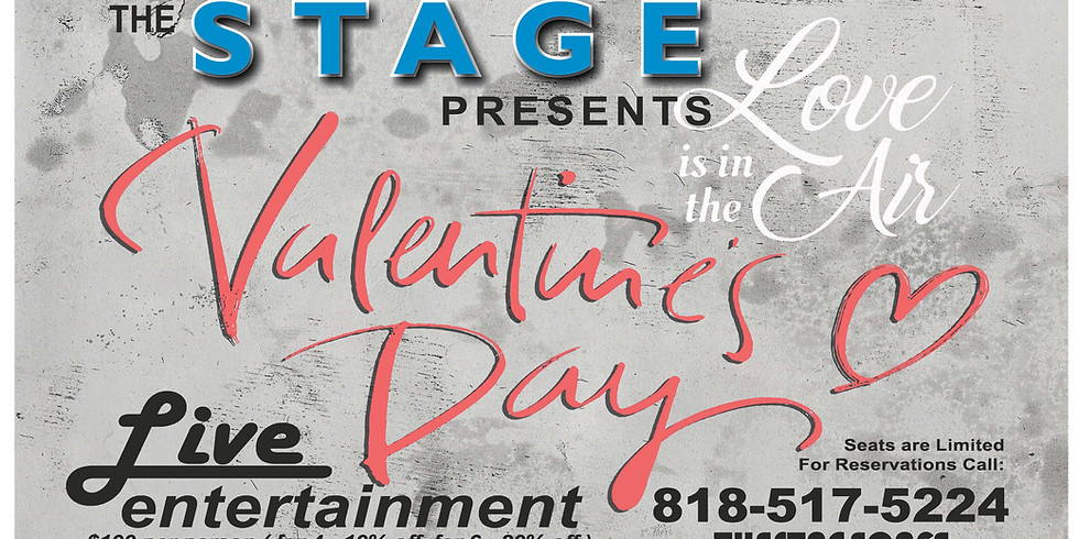"""The Stage presents """"Love is in The Air"""" Valentine's Day"""