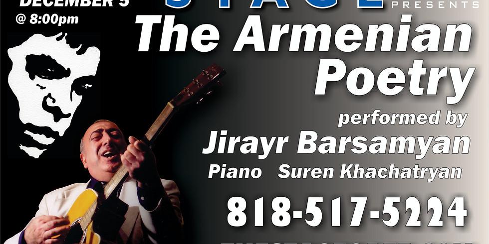The Armenian Poetry performed by Jirayr Barsamyan