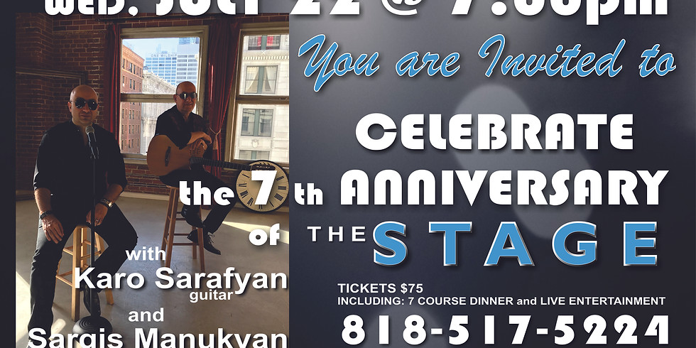 Celebrate the 7th Anniversary of The Stage