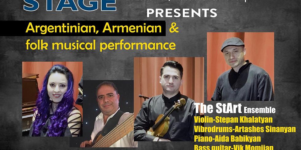 Argentinian , Armenian & Folk Musical Performance
