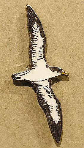 Cory's Shearwater pin badge