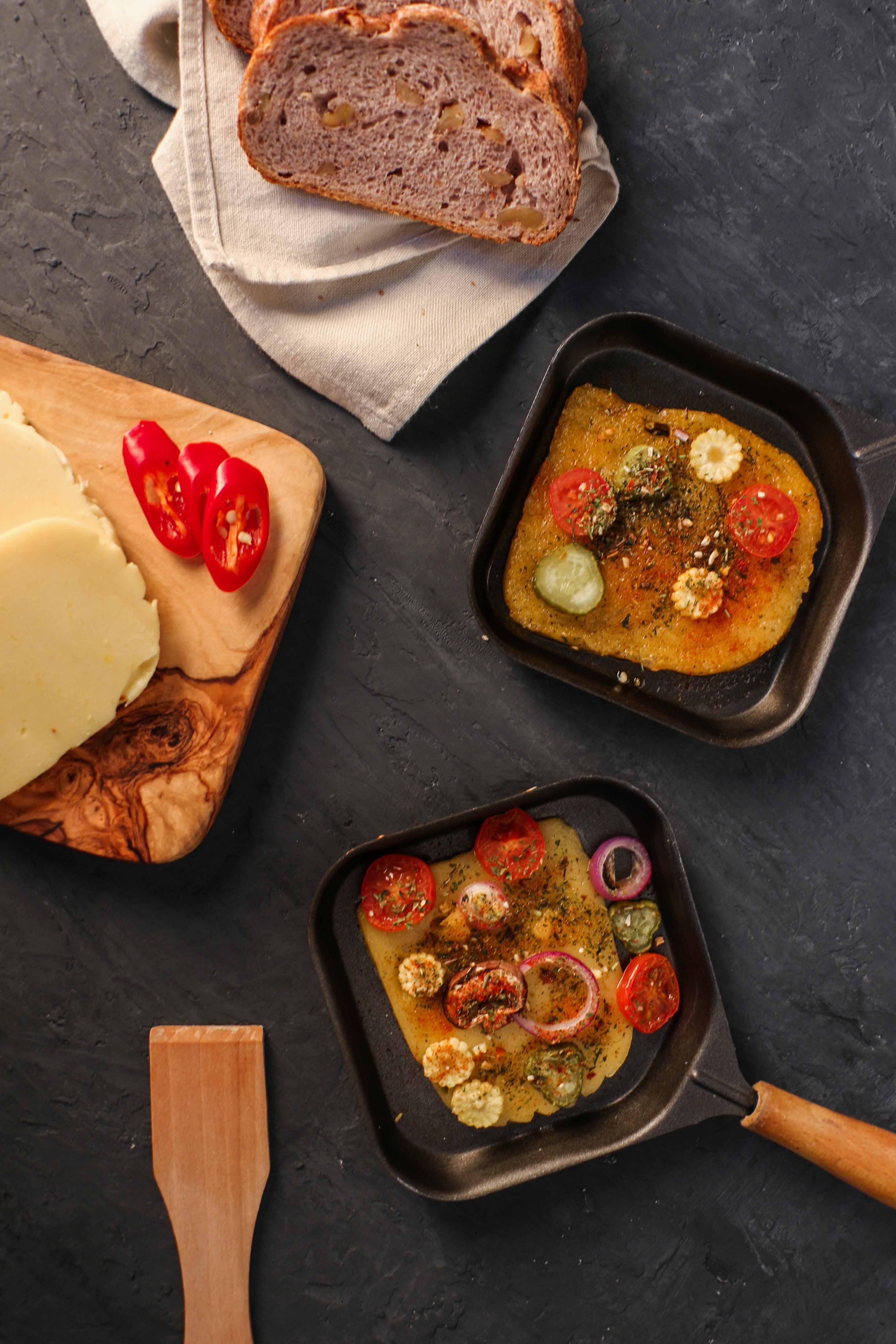 veganer raclette käse