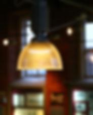 レトロなシーリングランプ