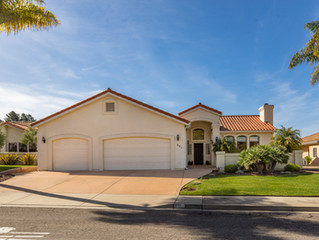 SOLD for $1,005,000 Single Story Family Custom Arroyo Grande 2907 Square Feet Pristine Home. This ma