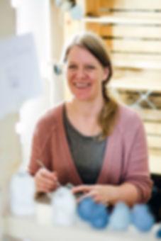 Portrait of Karen Dawn Curtis Ceramic Artist