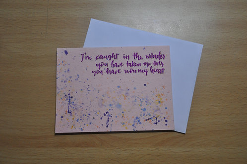Card - Into the deep lyrics